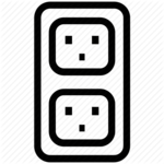 Electric Socket PNG File icon png