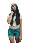 Emily Rudd Transparent Background icon png