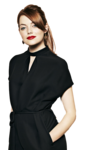 Emma Stone Transparent Background icon png