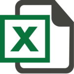 Excel Transparent Background icon png