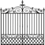 Fancy Gate PNG Photos icon png