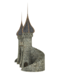 Fantasy Castle PNG Image icon png