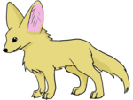 Fennec Fox PNG Clipart icon png