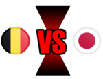 FIFA World Cup 2018 Belgium VS Japan PNG File icon png