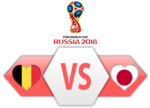 FIFA World Cup 2018 Belgium VS Japan PNG Image icon png