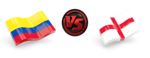 FIFA World Cup 2018 Colombia VS England PNG Transparent Image icon png