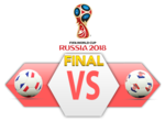 FIFA World Cup 2018 Final Match France VS Croatia PNG Clipart icon png