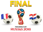 FIFA World Cup 2018 Final Match France VS Croatia PNG Photos icon png
