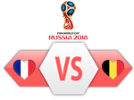FIFA World Cup 2018 Semi-Finals France VS Belgium PNG Clipart icon png