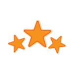 Floating Stars PNG Clipart icon png