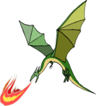 Flying Dragon PNG Photos icon png
