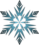 Frozen Snowflake PNG Clipart icon png