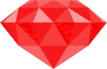 Gem Transparent Background icon png