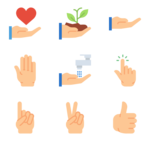 Gesture PNG Clipart icon png