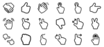 Gesture PNG File icon png