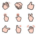 Gesture PNG Image icon png