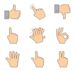 Gesture Transparent PNG icon png