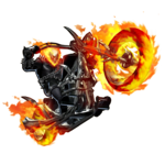 Ghost Rider Bike PNG File icon png