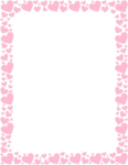 Girly Border Transparent PNG icon png