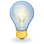 Glowing Bulb PNG Transparent Image icon png