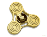 Gold Fidget Spinner Background PNG icon png