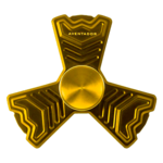 Gold Fidget Spinner PNG Clipart icon png