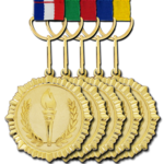 Gold Medal Background PNG icon png