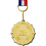 Gold Medal PNG Background Image icon png