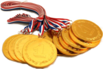 Gold Medal Transparent PNG icon png