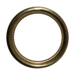 Golden Round Frame PNG Photos icon png