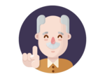 Grandfather Transparent PNG icon png