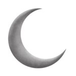 Half Moon PNG Transparent Image icon png