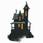 Halloween House PNG Pic icon png