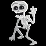 Halloween Skeleton PNG Free Download icon png