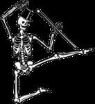 Halloween Skeleton PNG Image icon png