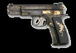 Handgun PNG Transparent Image icon png