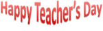 Happy Teachers Day Transparent Background icon png