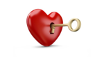 Heart Key Transparent PNG icon png