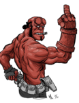 Hellboy PNG Free Download icon png