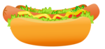 Hot Dog PNG Transparent Background icon png