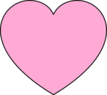 Hot Pink Heart PNG Photos icon png