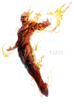 Human Torch PNG File icon png