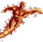 Human Torch PNG Photo icon png