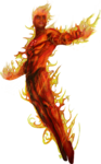 Human Torch PNG Picture icon png