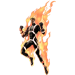 Human Torch Transparent Background icon png