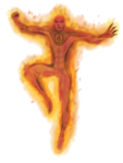 Human Torch Transparent PNG icon png