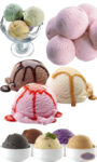 Ice Cream Balls PNG Photos icon png
