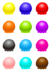 Ice Cream Balls Transparent PNG icon png