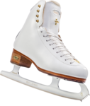 Ice Skating Shoes Transparent Background icon png