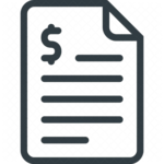 Invoice PNG File icon png